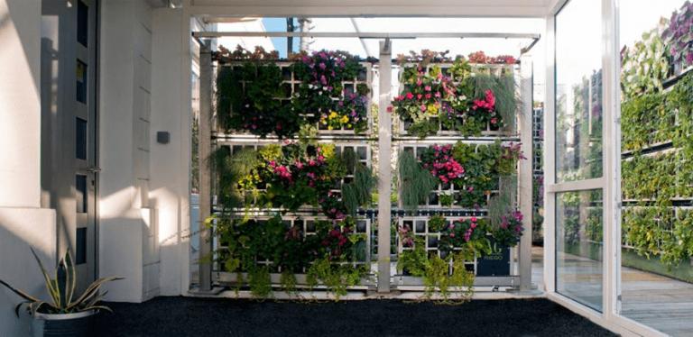 jardin vertical espacio de trabajo
